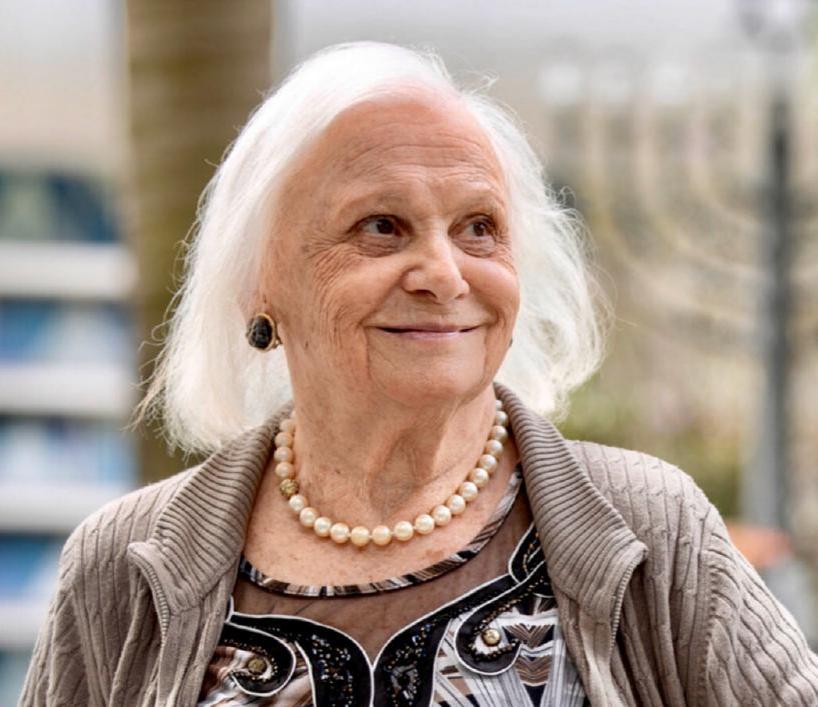 Dinah Spitalnik. Hija de Ivetta Konforti